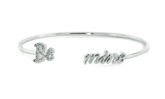 Be Mine Sterling Silver Bangle
