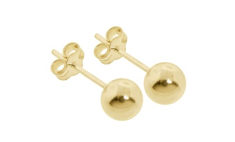 Gold Plated Ball Stud 6mm